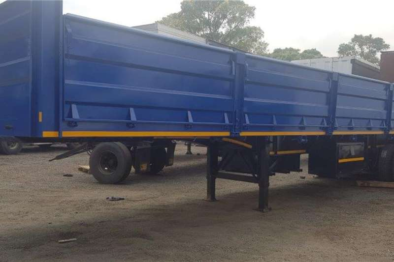 Henred Trailers Dropside 13.5M Tri Axle Mass Side 2020