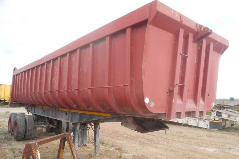 Henred Trailers End tipping Henred Copelan 1998