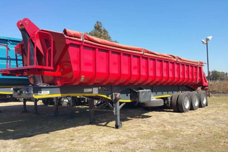 Henred Trailers End tipping Sloper end tipper 2019