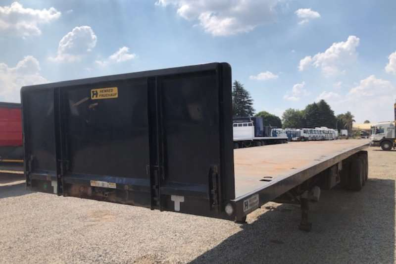Henred Trailers Flat deck Tri Axle Flatdeck 14.2m 2018