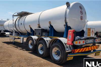 Henred HENRED 22000L 2°DOUBLE CONICAL TRI AXLE TANKER TRA Trailers