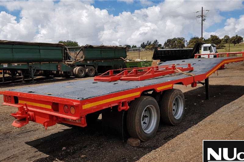 Henred HENRED DOUBLE AXLE LOWBED TRAILER Trailers