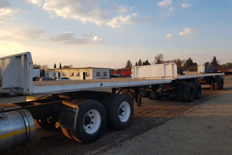 Henred Trailers Henred Flatdeck Superlink 1998
