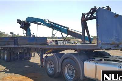 Henred HENRED TRI AXLE FLAT DECK TRAILER WITH BRICK GRAB Trailers