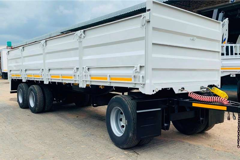 Henred Trailers Mass side 3 Axle Drawbar MK Sweiswerke 2014
