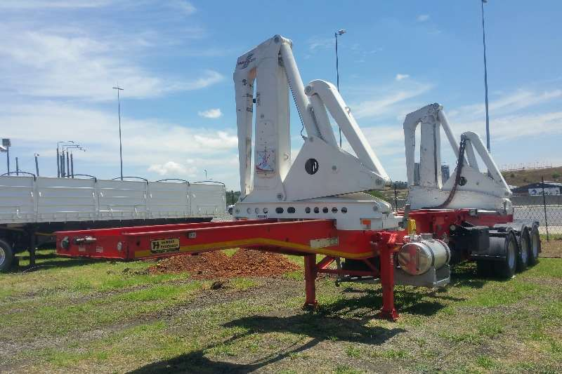 Henred Trailers Skeletal Side loader skeletal tridem 2019