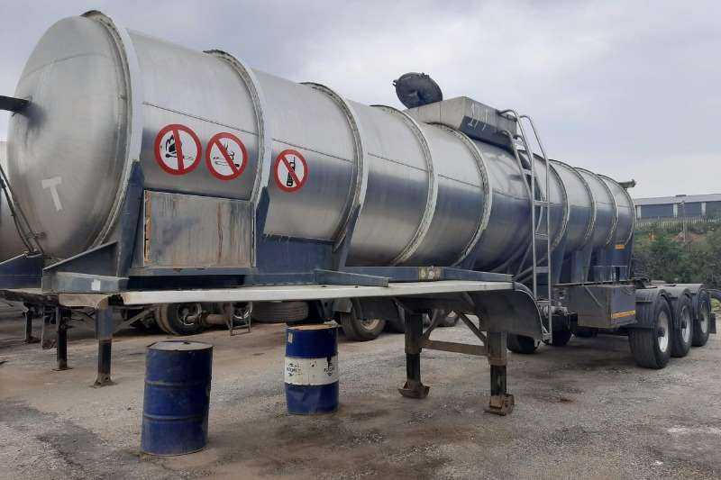 Henred Trailers Stainless Steel Trailer 2003 Henred Stainless Steel Link 2003