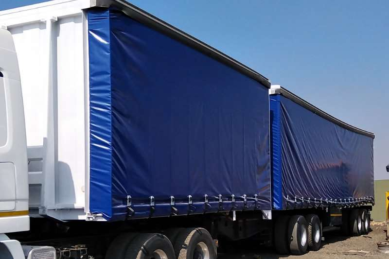 Henred Trailers Tautliner 2 x HENRED FRUEHAUF SUPERLINK TAUTLINER 2001