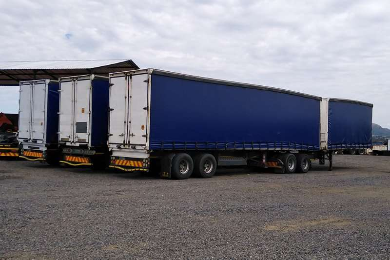 Henred Trailers Tautliner 25 x VARIOUS HENRED FRUEHAUF SUPERLINK TAUTLINERS