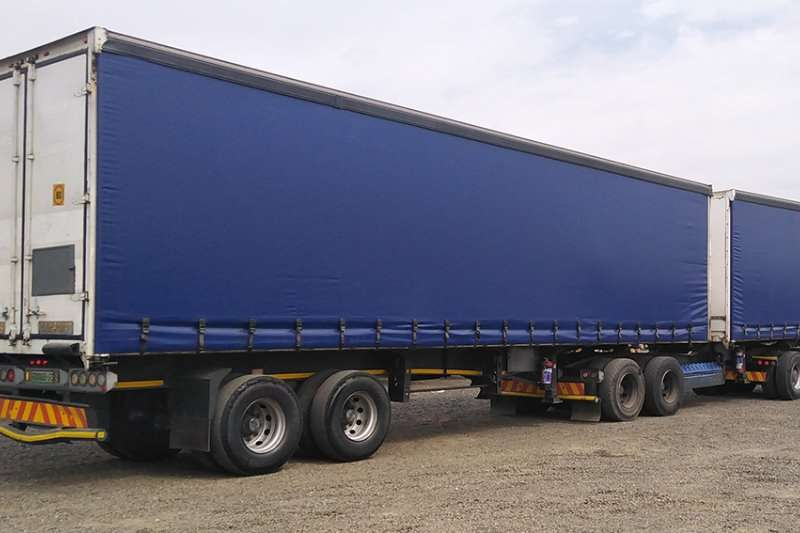 Henred Trailers Tautliner 7 X HENRED FRUEHAUF SUPERLINK TAUTLINERS 2011
