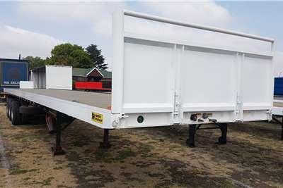 Henred Tri-Axle Tridem Flatdeck 15.2mt Trailers