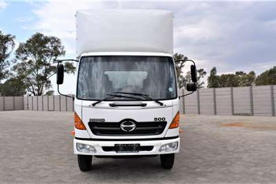 Hino 500 Series 1017 Volume Body Box trucks