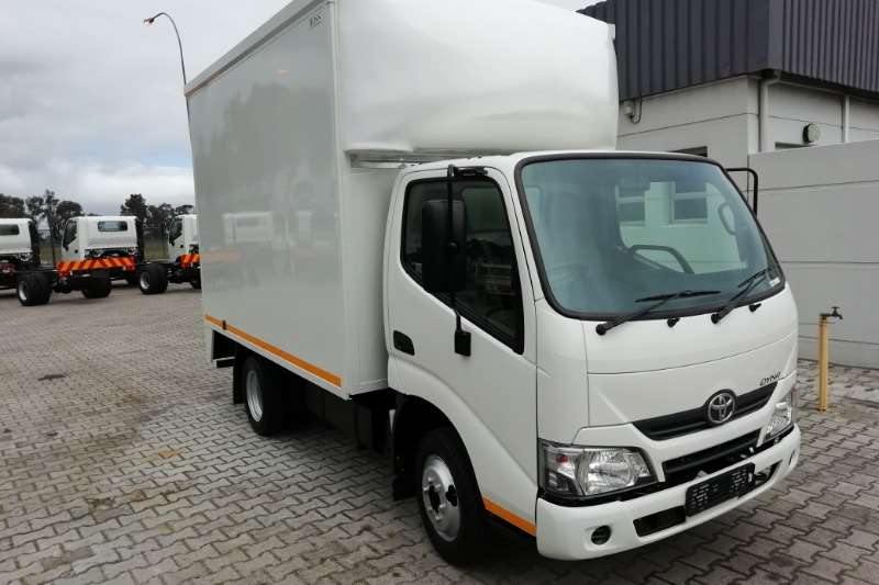 Hino Box trucks New Dyna 2020