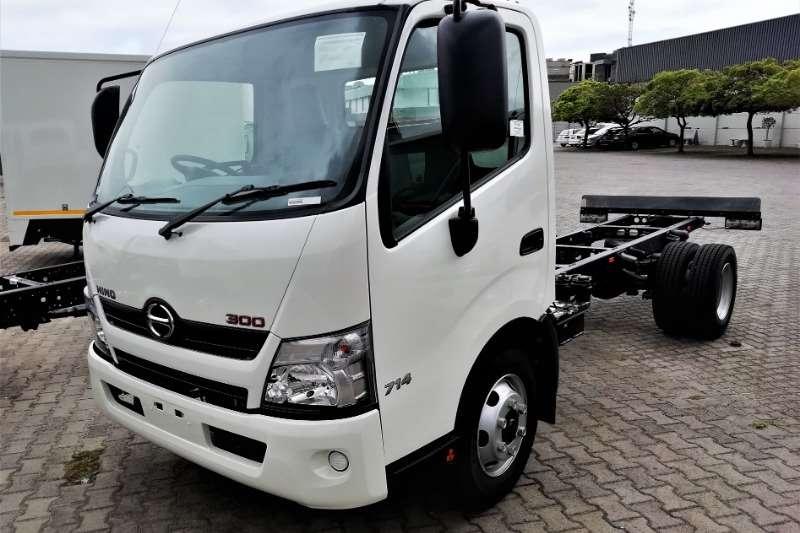 Hino Chassis cab trucks 300 714 MT 2020