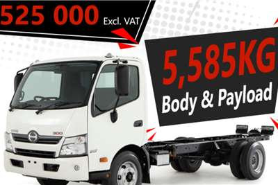 Hino New Hino 300 916 LWB Auto Chassis cab trucks
