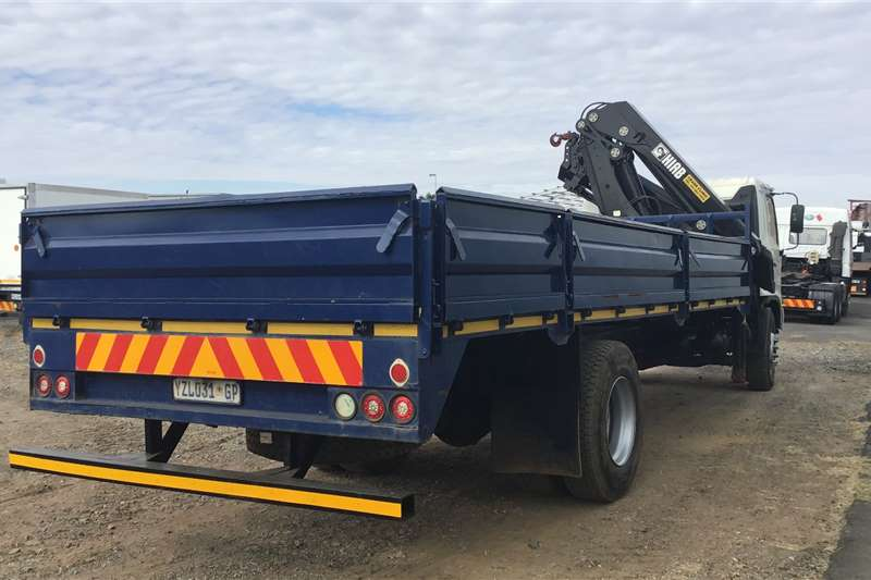 Hino 2010 Hino 500 1324 Dropside fitted with 24T Hiab Crane trucks