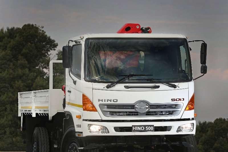Hino 4x4 Dropside with a Crane Crane trucks