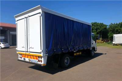 Hino 2010 HINO 814 CURTAIN SIDE Curtain side trucks