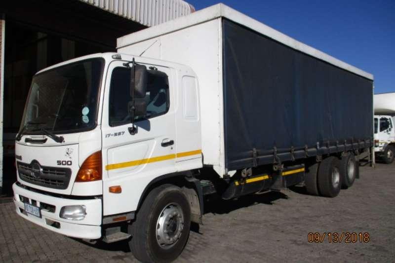 Hino Curtain side trucks HINO 17 257 TAUTLINER 6X2 2008