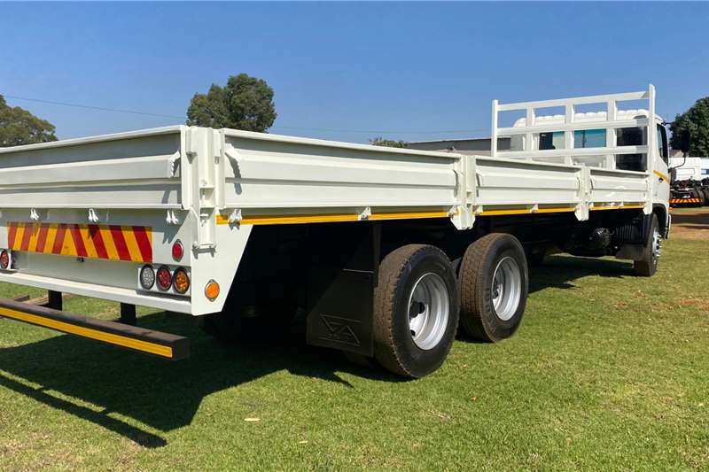 Hino 2015 HINO 16 26 TAG AXEL DROPSIDE Dropside trucks
