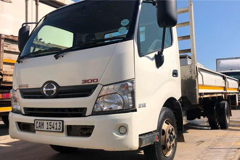 Hino Dropside Trucks 300 915 5ton DROPSIDE 2015
