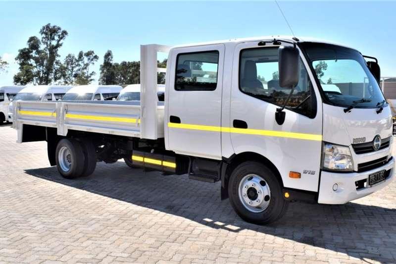 Hino Dropside trucks 300 Series 915 LWB Crew Cab Dropside 2016