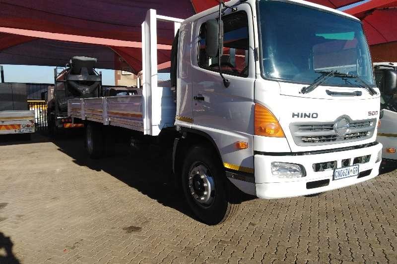 Hino Dropside trucks 500 2829 L.W.B. 8 TON DROPSIDE 2013