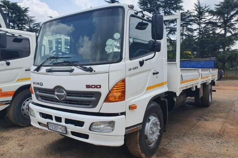 Hino Dropside trucks 500 Series 15 258 2009