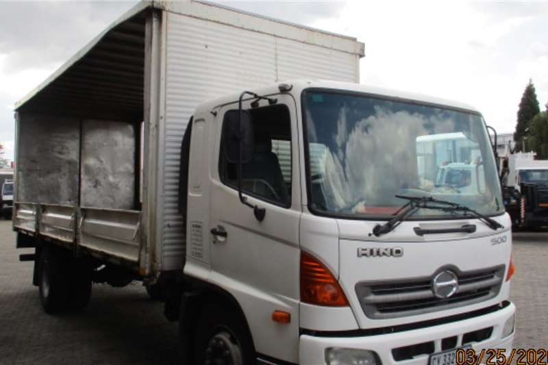 Hino Dropside trucks HINO 13 237 TAUTLINER WITH DROPSIDES 2007