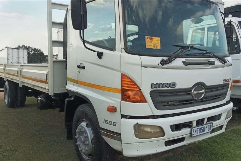 Hino HINO 500  16:26   8 TON DROPSIDE FOR SALE Dropside trucks
