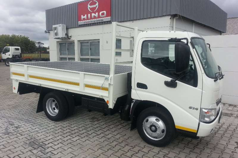 Hino Dropside trucks New stock phone for pricing on dropside 2020