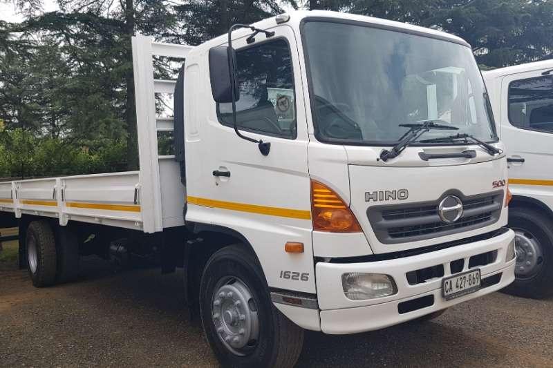 Hino Dropside trucks SERIES 500. Hino 1626. 2012