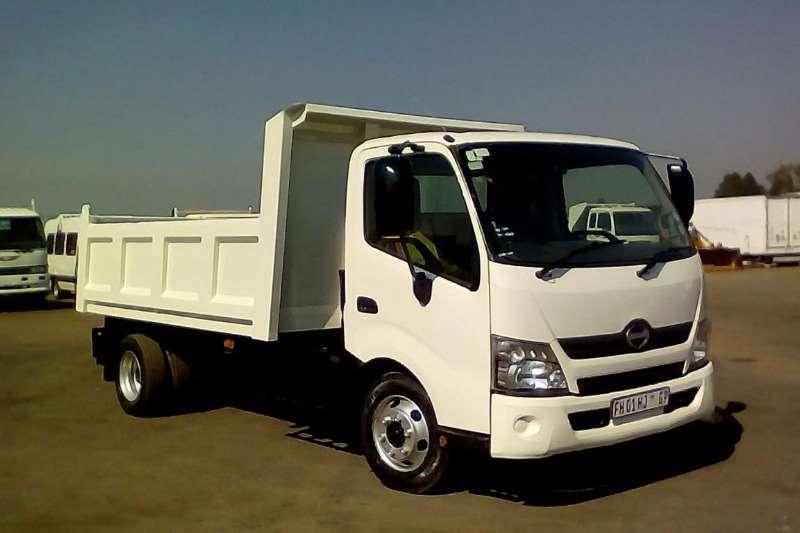 Hino Tipper trucks HINO 300 815C/C SWB A/T815 TIPPER BODY 2016