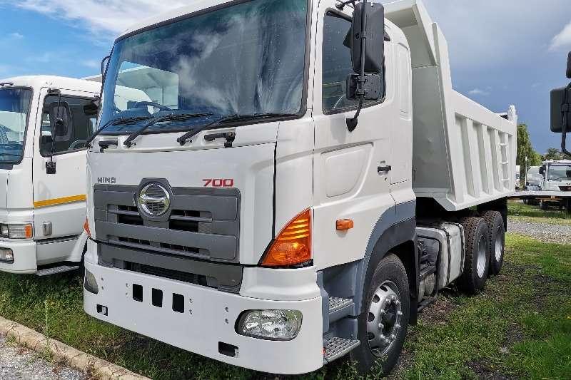 Hino Hino 700 12cube Tipper Tipper trucks
