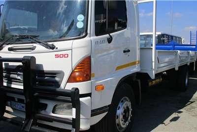 Hino Truck 17-257 Drop Side Body 2004