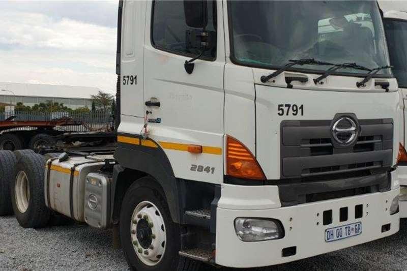 Hino Truck 2841 Euro 4 6x4 Mechanical Horse 2014