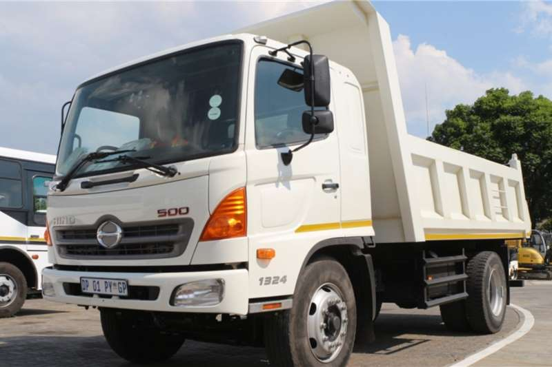 Hino Truck 500 1324 4x2 6m3 Tipper 2015