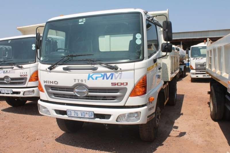 Hino Truck 500 1324 6m3 Tipper Truck 2012