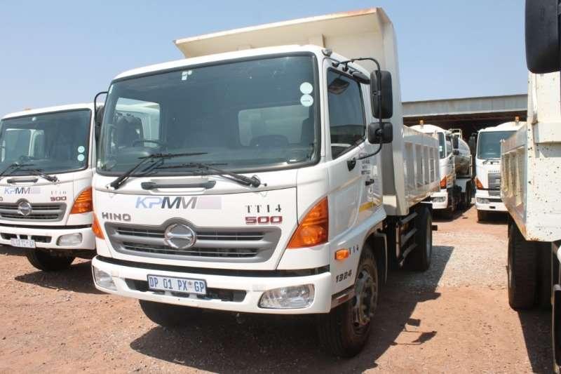 Hino Truck 500 1324 6m3 Tipper Truck 2015