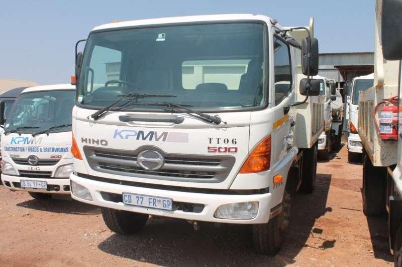 Hino Truck 500 1324 6m3 Tipper Truck