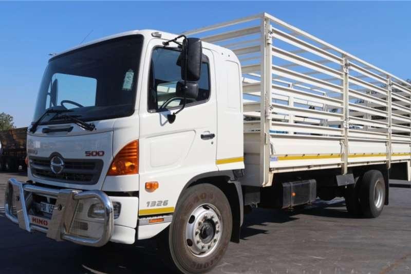 Hino Truck 500 1326 4x2 Dropside 2018