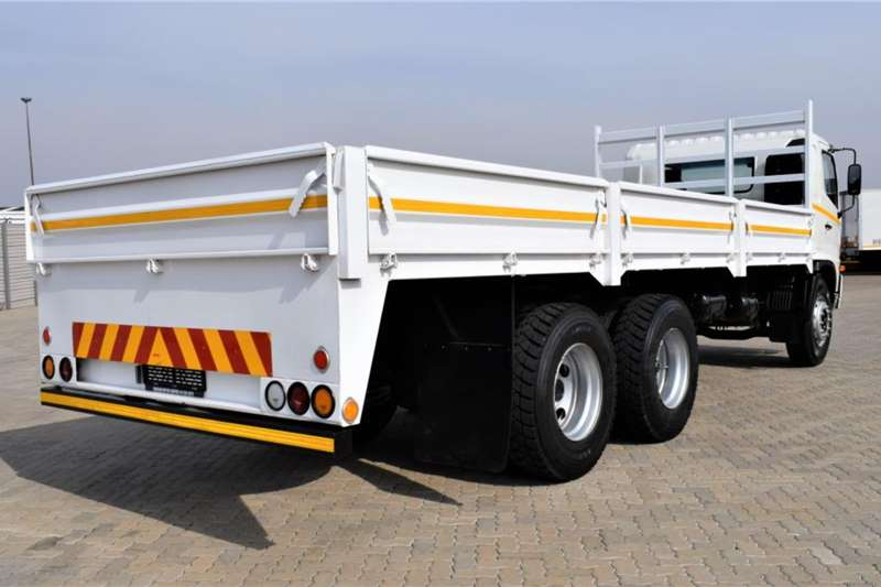 Hino 500 Series 1726 Drop Side Tag Axle Truck