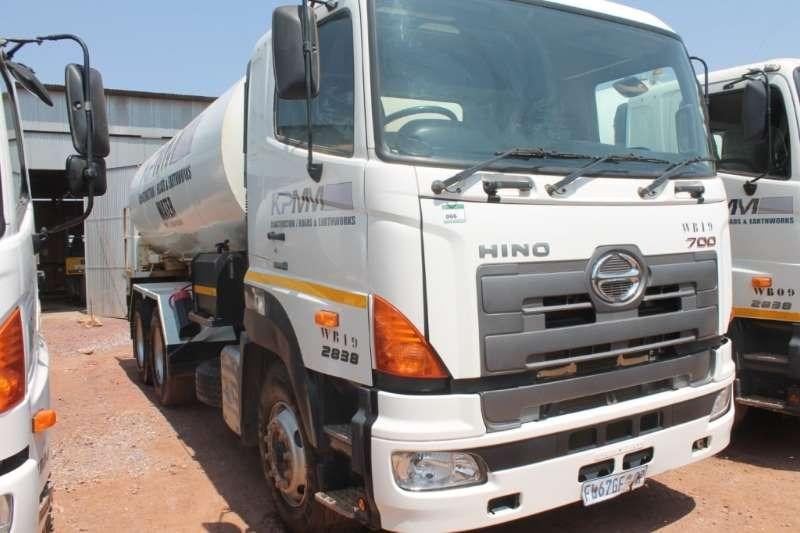 Hino Truck 700 2838 18000L Water Truck 2016