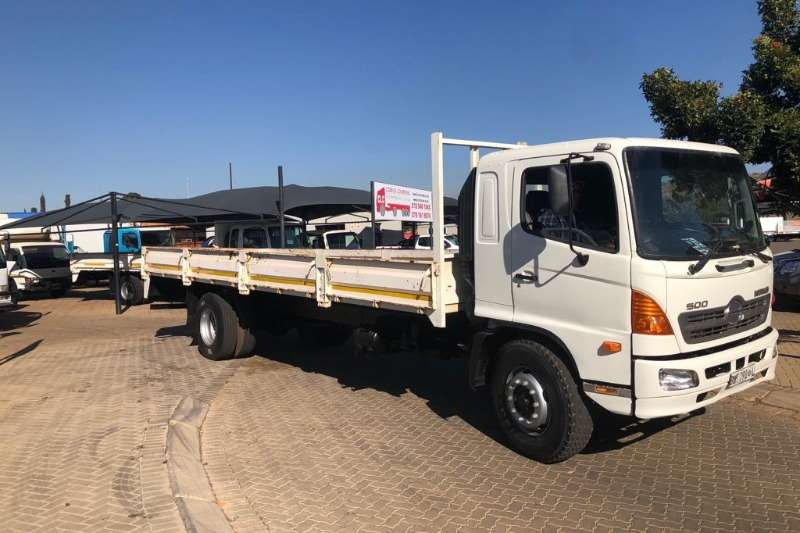 Hino Truck Chassis cab 2008 Hino 15 258 4 x 2 new Dropside body 2008