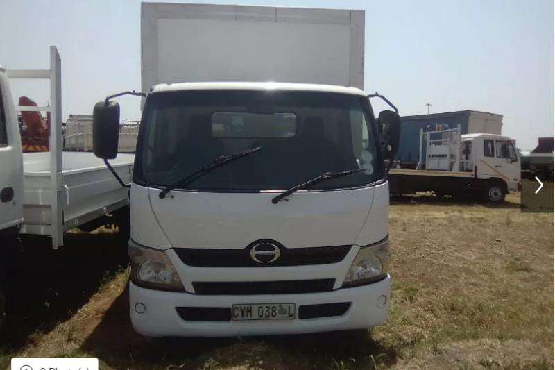 Hino Truck Closed Body 2013 HINO 300 CLOSED BODY 2013