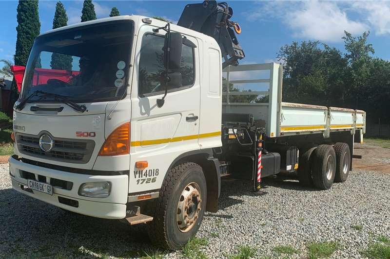 Hino Truck Crane truck 2013 Hino 1726 Dropside With Crane 2013
