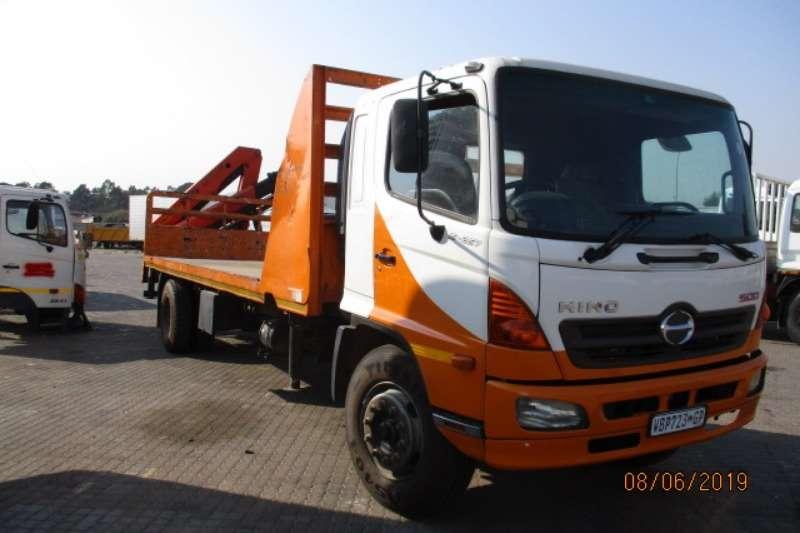 Hino Truck Crane truck HINO 15 257 FLATDECK WITH PK 10000 CRANE 4 EXT 2007