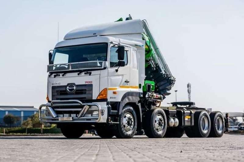 Hino Truck Crane truck Hino 3541 FC 8X4 2019