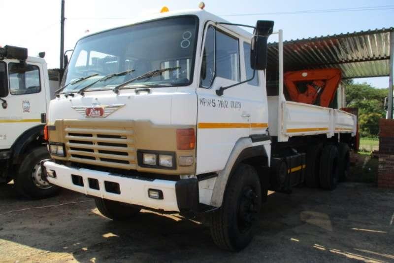 Hino Truck Crane truck HINO 39 240 DROPSIDE WITH HYDRAULIC CRANE