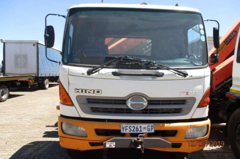Hino Crane truck HINO 500 17 257 CRANE TRUCK WITH PK15000 CRANE Truck